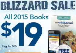 2015 Entertainment Book $19