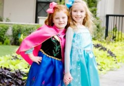 Frozen-Inspired Elsa or Anna Dress