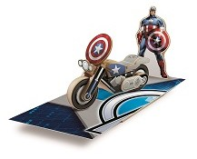 Lowes Build & Grow Captain America Motorcycle