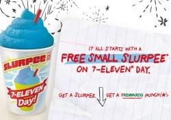 Free Slurpee On 7-11 Day