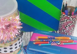 6 Back to School Duck Tape Crafts