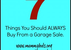 7 Things From a Garage Sale