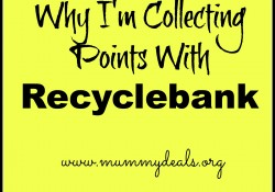 Why I'm Collecting Points With Recyclebank
