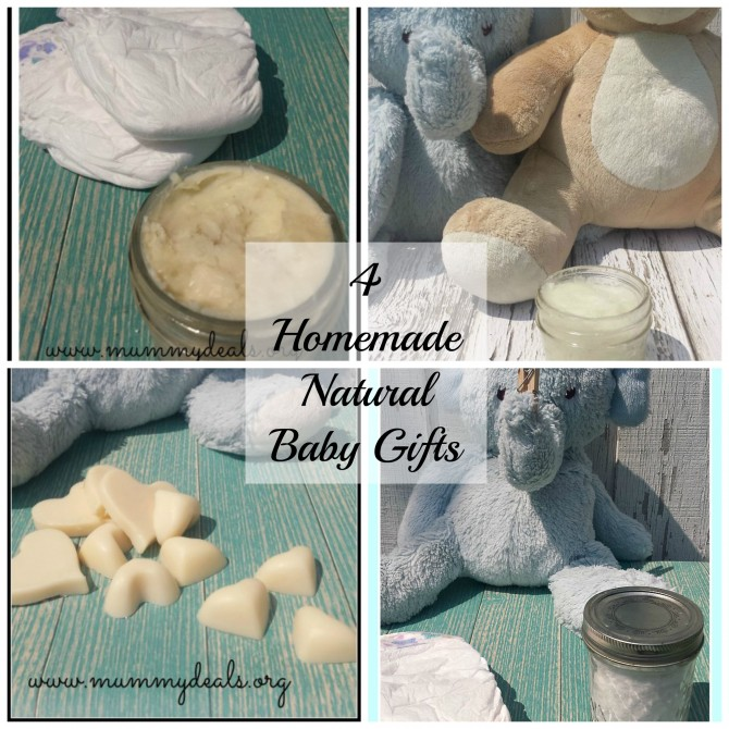 4 Homemade Natural Baby Gifts - Mummy Deals