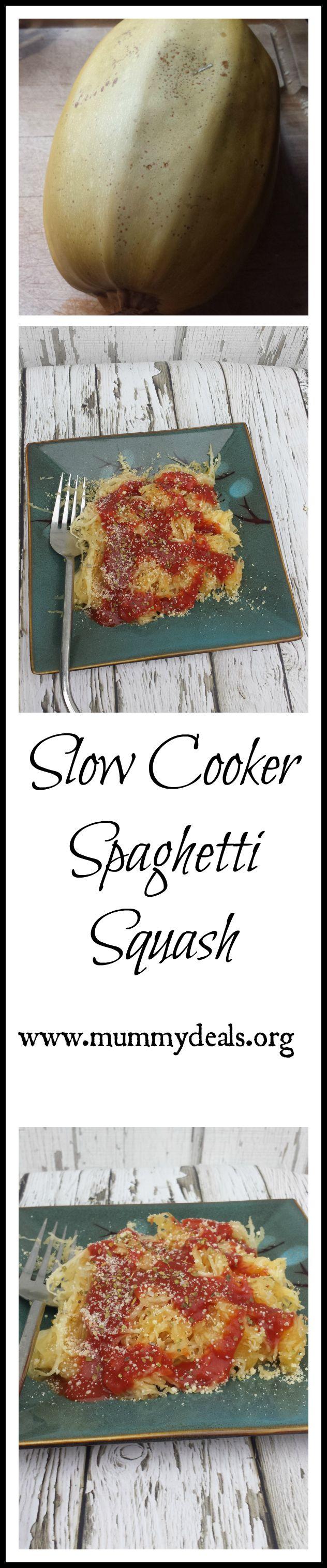 Slow Cooker Spaghetti Squash Main