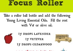 homemade essential oil focus