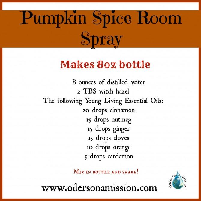 Pumpkin Spice Room Spray - MummyDeals.org