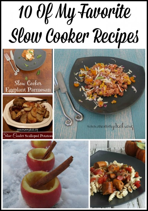 10 Of My Favorite Slow Cooker Recipes