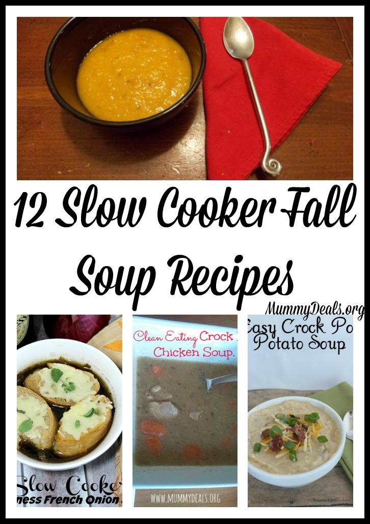 12 fall slow cooker soup recipes crock pot recipes slow for Healthy slow cooker soup recipes uk