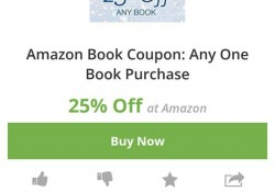 25% Off Book Amazon Purchase