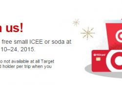 Free Drink At Target