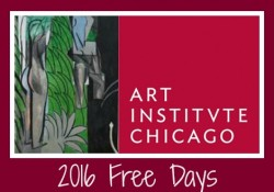 2016 Chicago Art Institute Free Days - MummyDeals.org