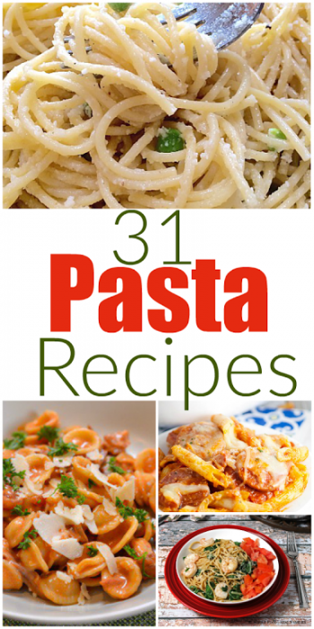 31 Amazing Pasta Recipes - Mummy Deals