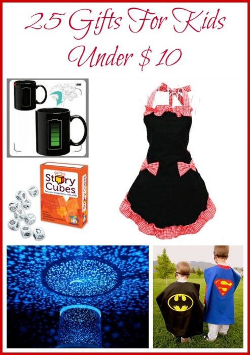 25 Gifts For Kids Under $10