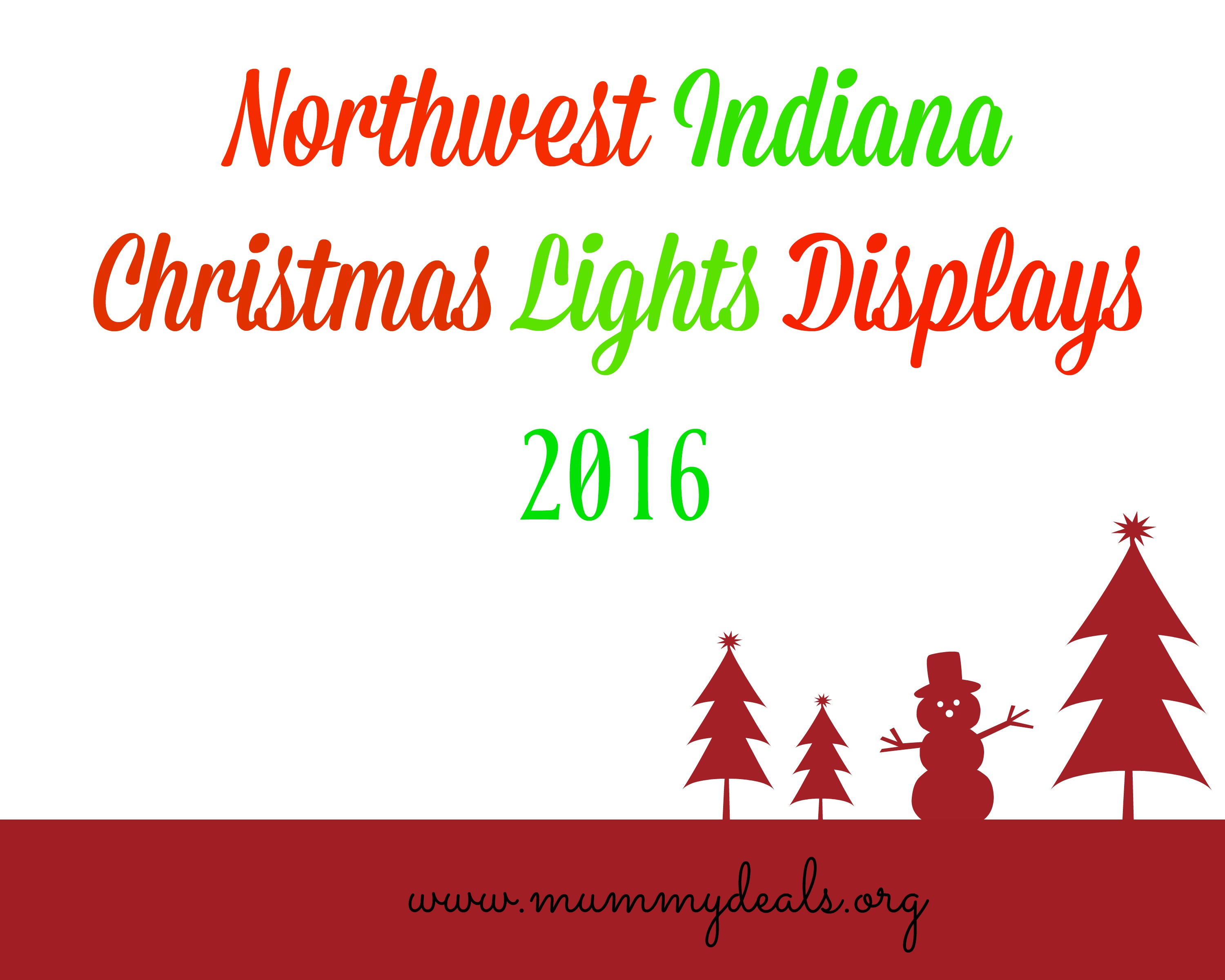Northwest Indiana Christmas Light Displays | Northwest Indiana Lights