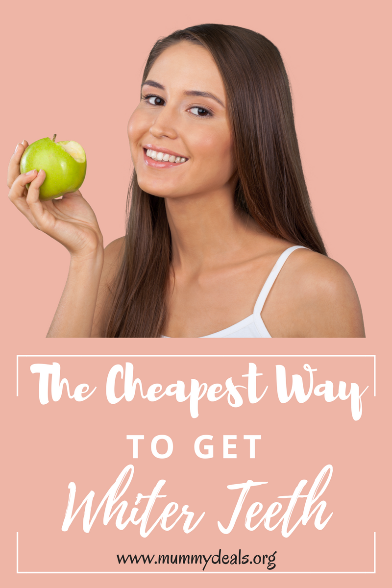 The Cheapest Way to get white teeth