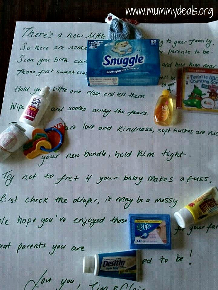 Baby Shower Poem Gift Baby Poems Candy Bar Poem