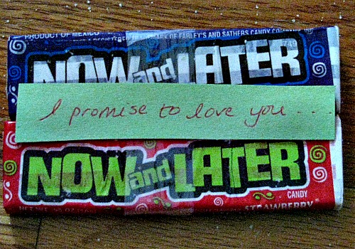 Love Messages | Love Poems | Mini Candy Bar Poems